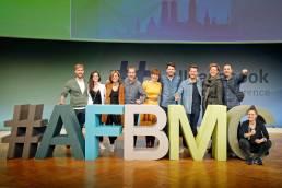 Daniela Vey hält Vortrag auf der AllFacebook Marketing Conference in Berlin im Herbst 2019 zum Städten auf Instagram