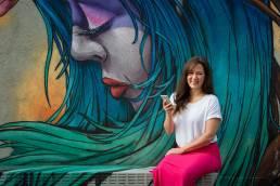 Portrait von Infodesignerin Daniela Vey