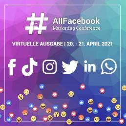 AllFAcebook Konferenz • Virtual Edition im April 2021